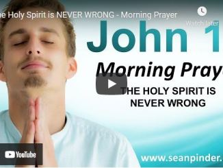 Morning Prayer With Pastor Sean Pinder March 12 2021