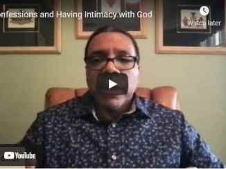 Pastor Creflo Dollar - Confessions and Having Intimacy with God