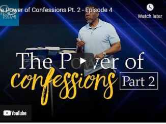 Pastor Creflo Dollar Sermon - The Power of Confessions