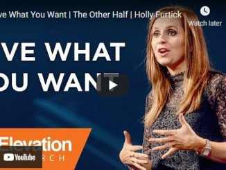 Pastor Holly Furtick Sermon - Give What You Want