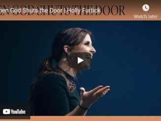 Pastor Holly Furtick Sermon - When God Shuts the Door