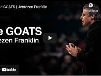 Pastor Jentezen Franklin Message - The GOATS