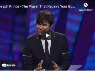 Pastor Joseph Prince Sermon - The Prayer That Repairs Your Body