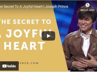 Pastor Joseph Prince Sermon - The Secret To A Joyful Heart