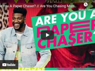 Pastor Michael Todd Sermon - Are You A Paper Chaser