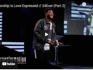 Pastor Michael Todd Sermon - Worship Is Love Expressed
