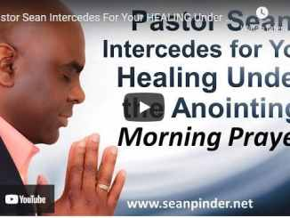 Pastor Sean Pinder Morning Prayer March 22 2021