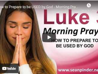 Pastor Sean Pinder Morning Prayer March 24 2021