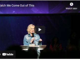 Pastor Sheryl Brady Sermon - Watch Me Come Out of This