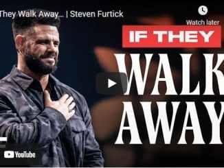 Pastor Steven Furtick Sermon - If They Walk Away