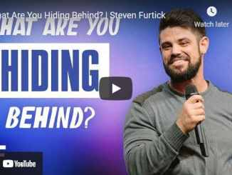 Pastor Steven Furtick Sermon - What Are You Hiding Behind?