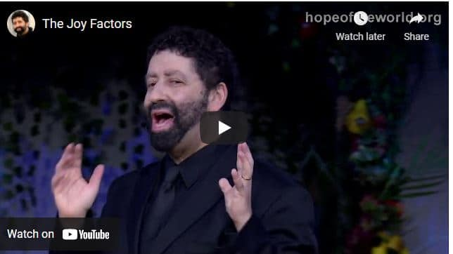 Rabbi Jonathan Cahn Sermon - The Joy Factors