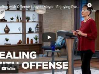 Joyce Meyer - Dealing with Offense