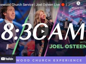 Lakewood Church Sunday Live Service April 18 2021