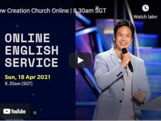 New Creation Church Sunday Morning Live Service April 18 2021