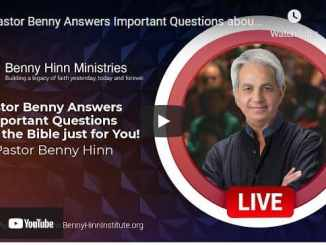 Pastor Benny Hinn Answers Important Questions about the Bible