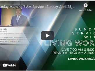 Pastor Bill Winston Sunday Live Service April 25 2021