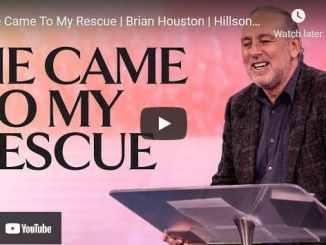 Pastor Brian Houston Sermon - He Came To My Rescue