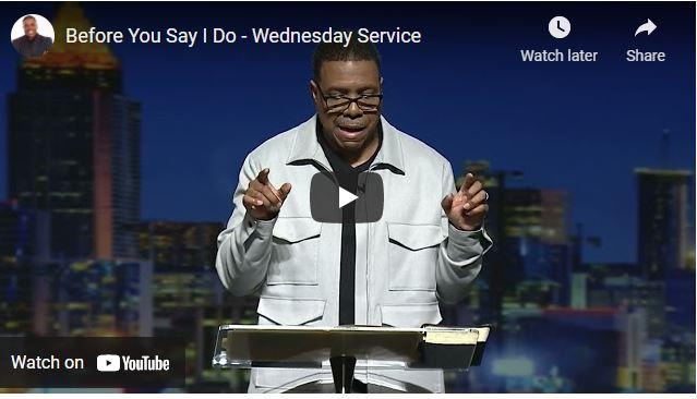 Pastor Creflo Dollar Sermon - Before You Say I Do