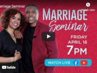 Pastor Creflo Dollar & Taffi Dollar - Marriage Seminar