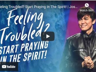 Pastor Joseph Prince - Feeling Troubled? Start Praying In The Spirit