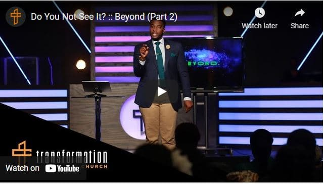 Pastor Michael Todd Sermon - Do You Not See It?