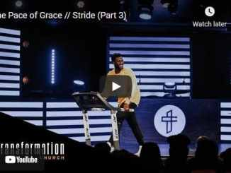 Pastor Michael Todd Sermon - The Pace of Grace