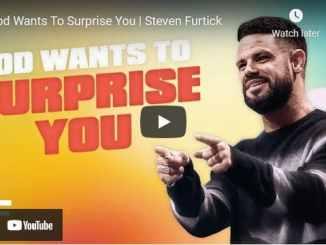 Pastor Steven Furtick Sermon - God Wants To Surprise You