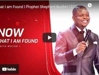 Prophet Shepherd Bushiri - Now That I am Found