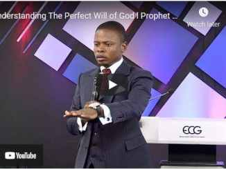 Prophet Shepherd Bushiri - Understanding The Perfect Will of God
