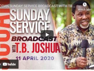 Prophet TB Joshua Sunday Live Service April 11 2021