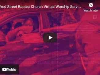 Alfred Street Baptist Church Sunday Live Service May 9 2021
