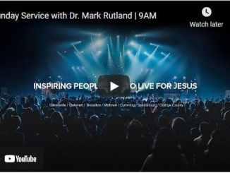 Free Chapel Sunday Live Service May 16 2021 With Dr. Mark Rutland