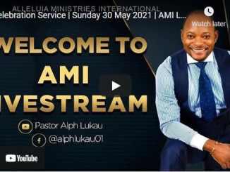 Pastor Alph Lukau Sunday Live Service May 30 2021