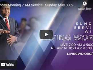 Pastor Bill Winston Sunday Live Service May 30 2021