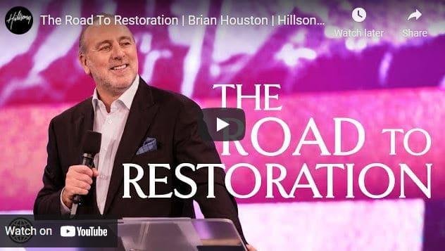 Pastor Brian Houston Sermon - The Road To Restoration