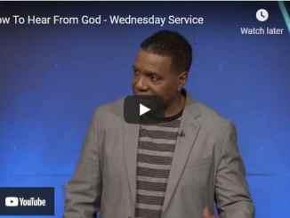 Pastor Creflo Dollar Sermon: How To Hear From God