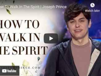 Pastor Joseph Prince Sermon - How To Walk In The Spirit