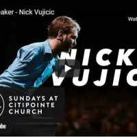 Pastor Nick Vujicic's Motivational Speech At Citipointe Church