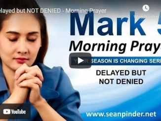 Pastor Sean Pinder Morning Prayer May 15 2021