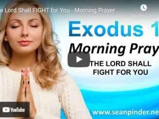 Pastor Sean Pinder Morning Prayer May 7 2021