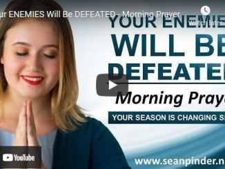 Pastor Sean Pinder Morning Prayer Session May 26 2021