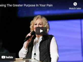 Pastor Sheryl Brady Sermons Seeing The Greater Purpose In Your Pain