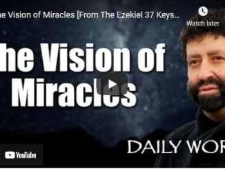 Rabbi Jonathan Cahn Messages - The Vision of Miracles