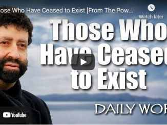 Rabbi Jonathan Cahn Sermon - Those Who Have Ceased to Exist