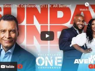 Relentless Church Sunday Live Service May 30 2021 With Dr. AR Bernard