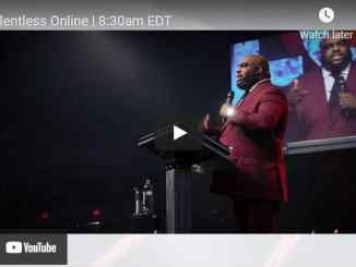 Relentless Church Sunday Live Service May 9 2021