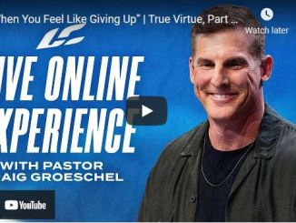 Sunday Live Service With Pastor Craig Groeschel of Life Church