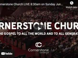 Cornerstone Church Sunday Live Service June 13 2021