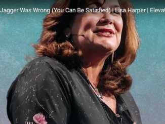 Lisa Harper: Mick Jagger Was Wrong (You Can Be Satisfied)